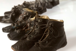 'Marjories first Shoes', (detail) 2012